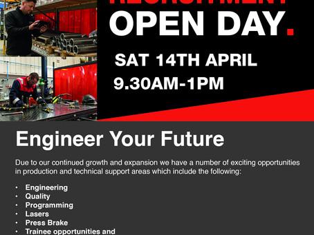 Hutchinson Engineering Recruitment Open Day