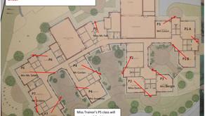 Plan of Pick-up Doors