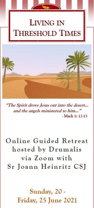 Living in Threshold Times Online Retreat (Sr Joann Heinritz)