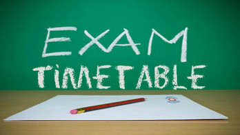 Year 8 -11 Summer Exam Time-table