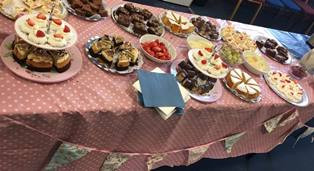 Year 14 tea party