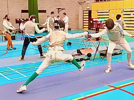 Fencing Report: Irish Intermediate Championships
