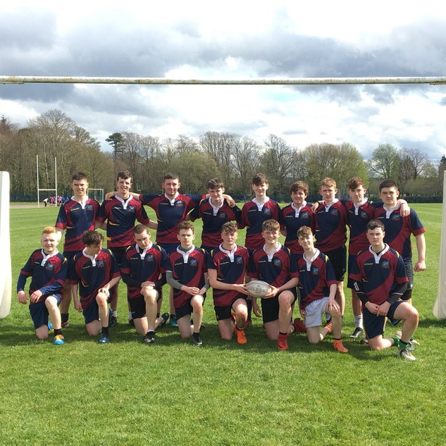 Congratulations to the Oakgrove College U16 Rugby Team, performing brilliantly to reach the High Schools Cup Semi-Finals. A hard fought but unfortunate 32-21 defeat in the semi-final (tr. Bradley Blackman (2),T-Jay Magee; con. Bradley, T-Jay & Sean Straw) saw stand-out performances from Dillon Quinn & Adam McGonagle.