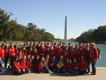 GEOGRAPHY DEPARTMENT TRIP TO USA, AUTUMN 2016