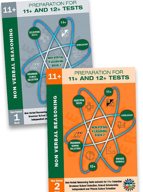 11+ Non-Verbal Reasoning 2 Book Bundle in Standard Format