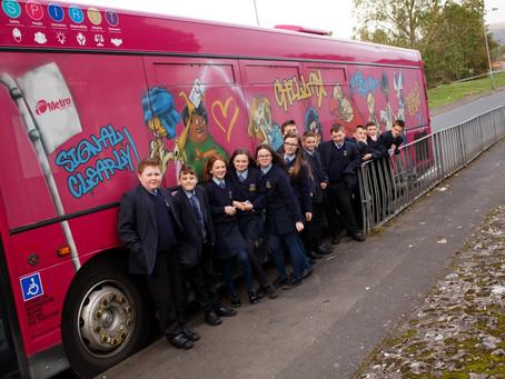 Translink Safety Bus visit year 8