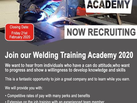 Welding Training Academy 2020