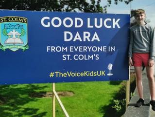 Good Luck Dara!
