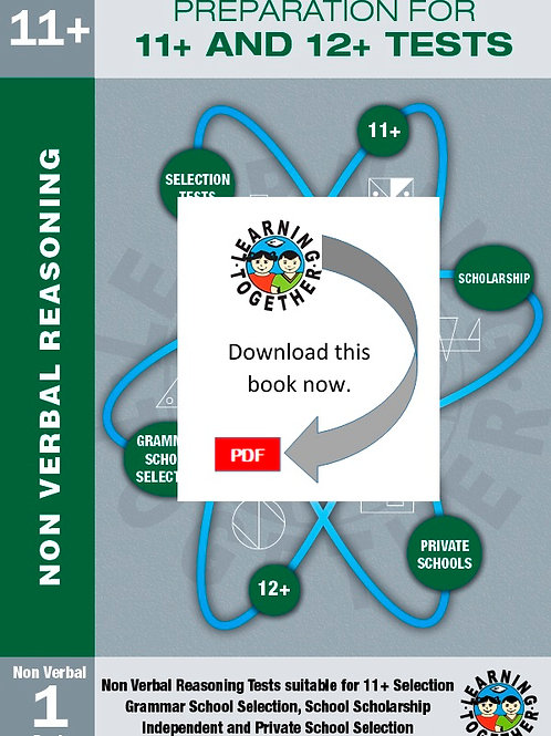 Preparation for 11+ Exams: Book 1 - Non-Verbal Reasoning (Download)