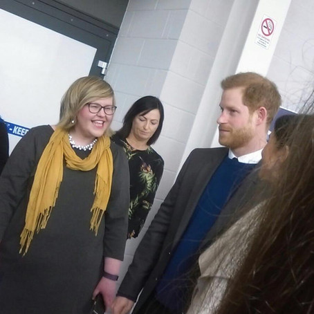 Meeting HRH Prince Harry and Meghan