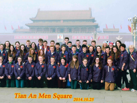 Geography Trip to Beijing Autumn 2014
