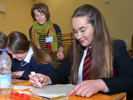 Local Schools Come Together for Art Workshops!