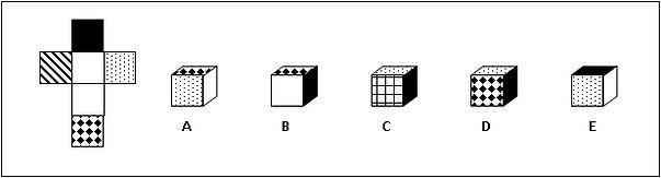 2D shape folded into a 3D shape