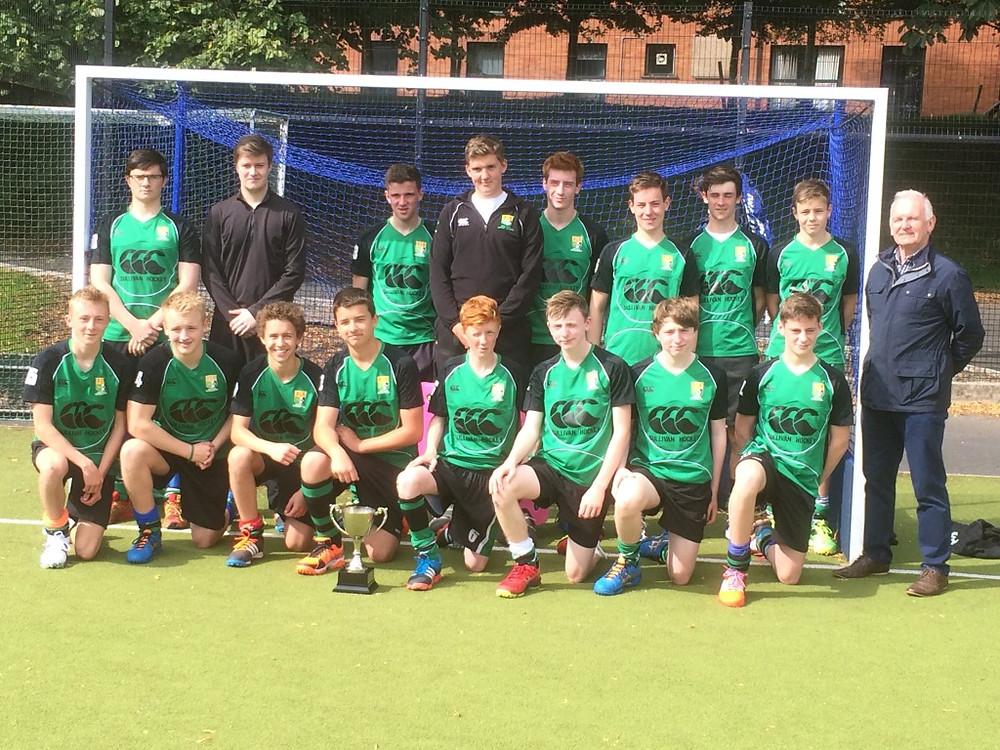 Boys Hockey Sullivan 1st XI Win Season Opening Trophy