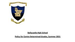Centre Determined Grade Policy