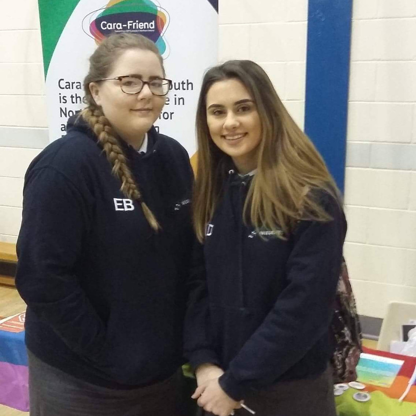 Emma and Katie finding out about support