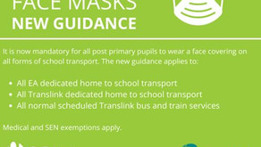 New guidance for home to school transport