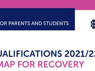 CCEA QUALIFICATIONS 2021/22: A ROADMAP FOR RECOVERY