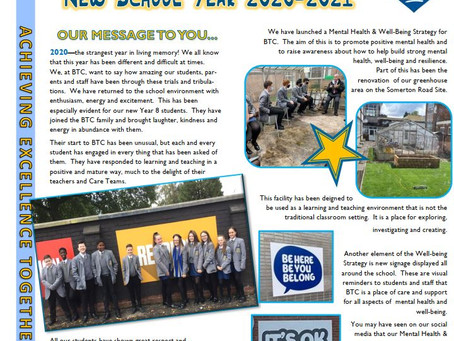 Year 8 Newsletter November 2020
