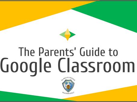 Parent & Guardian Guide to Google Classroom