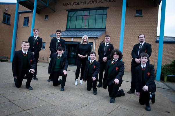 Y14&Y8 pupils Rosemount.jpg