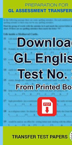 GL English Transfer Test 2