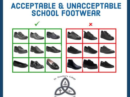 School Footwear Rules