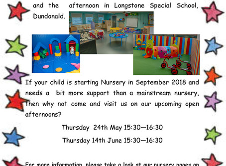 Little Stars Nursery - Open Afternoons (24th May/14th June)