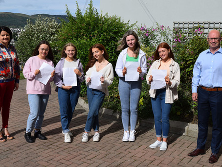 St Mary's High School Celebrate GCSE Success