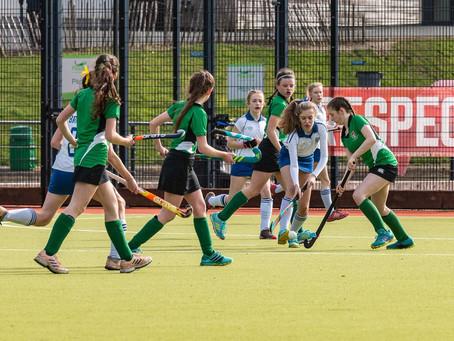 Girls Hockey – U14s narrowly lose Junior Plate Final