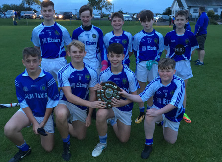St Benedict's boys instrumental in Championship win