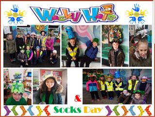 Wacky Hats & Socks Day