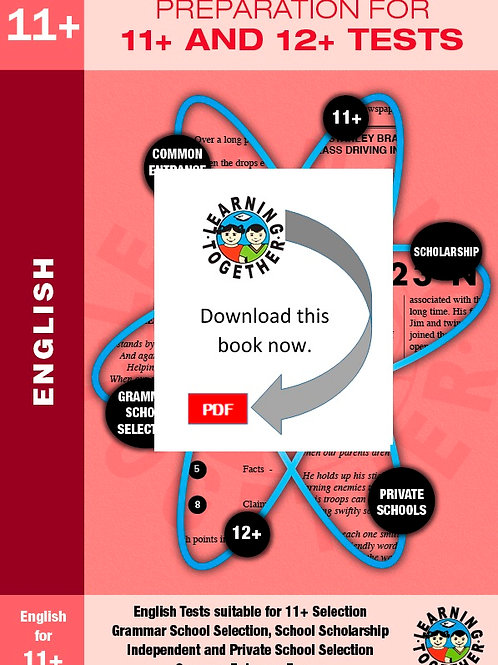 Preparation for 11+ Exams: English (Download)