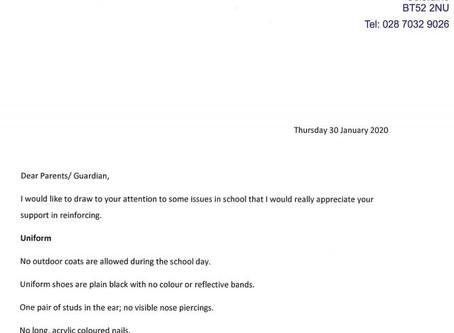 January Letter