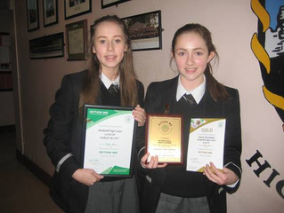 Markethill High School pupils help to raise money for Action MS!