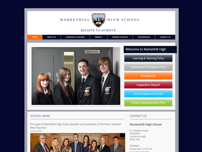 Markethill High School