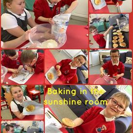 We enjoy baking and learning new skills.