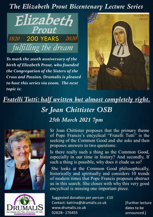 The Elizabeth Prout Bicentenary Lecture Series