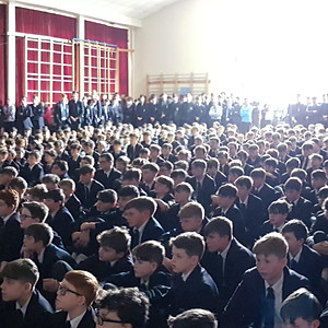 Whole school Hogan Cup Assembly