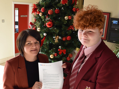 Student Celebrates Work With Northern Ireland Commissioner for Children and Young People Youth Panel