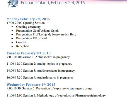 Safety of Medication Use in Pregnancy