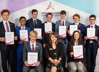 St Michaels pupils receive prestigious Arkwright Scholarship Awards