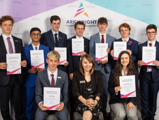 St Michaels pupils receive prestigious Arkwright Scholarship Awards