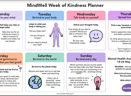 Mindwell Week of Kindness Planner