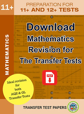 Download Maths revision for Transfer Tes