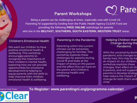 FREE ONLINE parenting sessions with ParentingNi