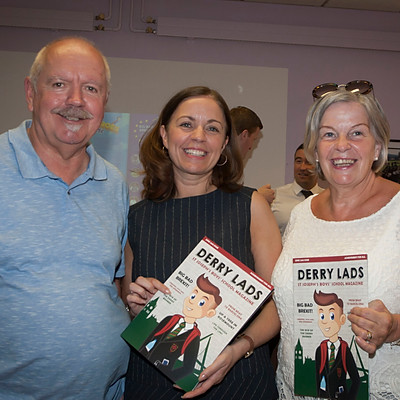 Derry Lads Book Launch