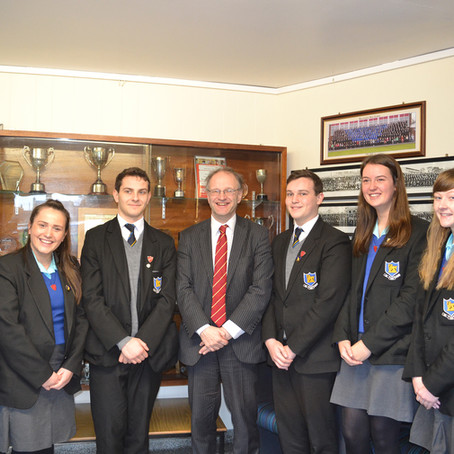 Minister of Education Visits BHS