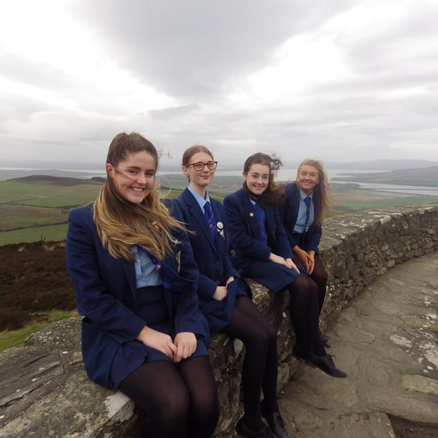 Irish An Grianan Fort Visit Donegal.JPG