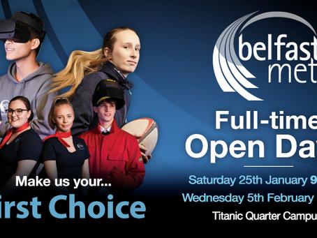 Belfast Met Open Days